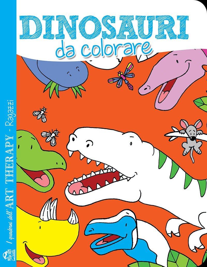 Art Therapy Per Ragazzi Dinosauri Da Colorare