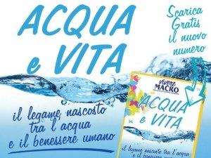Acqua e Vita: un sorso di benessere con Vivere Macro