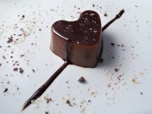 Budino al cioccolato e limone con cremina piccante allo zenzero