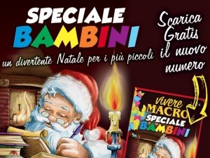Giochi e Favole per il giorno di Natale: stampa Vivere Macro per i più piccoli!