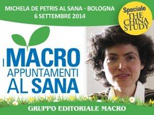 """La dottoressa Michela De Petris al Sana: """"Ci curiamo in base a quello che mettiamo nel piatto"""""""