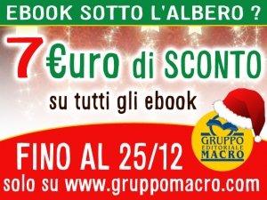 Ebook sotto l'Albero? Hai subito 7 euro di Buono Sconto!