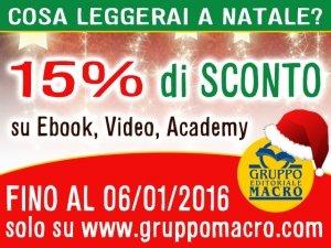 Ebook, Video On Demand, Academy Macro: SCONTO 15%