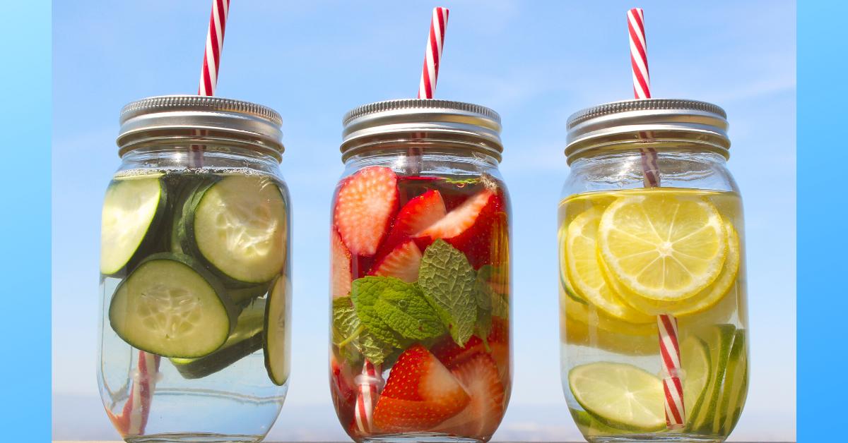 3 ricette per fare l'acqua aromatizzata