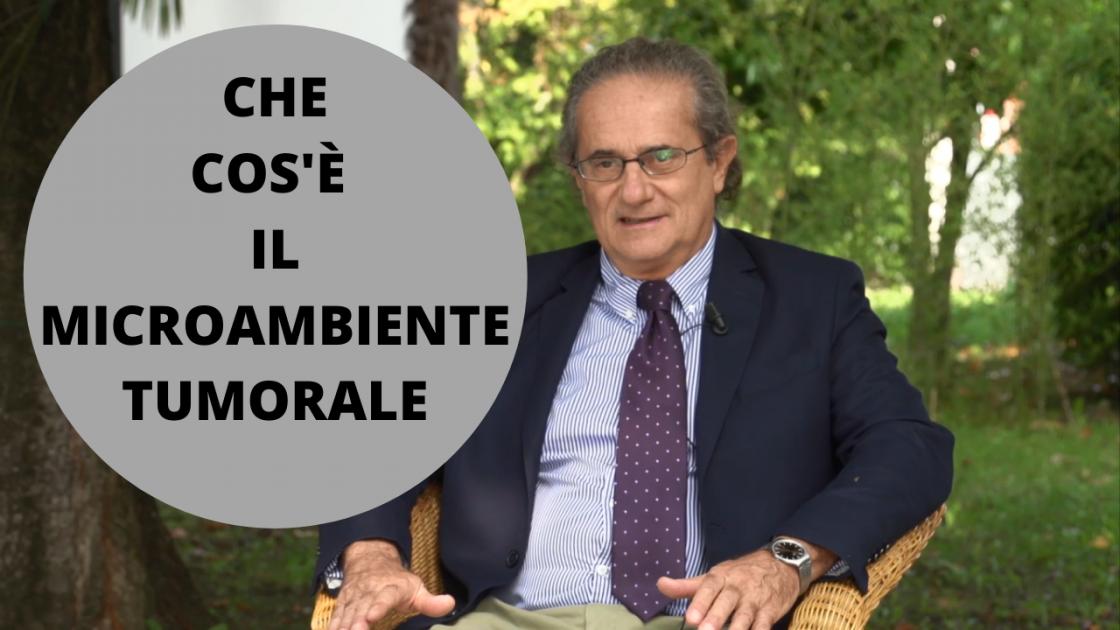 """Il Dr. Stefano Fais spiega che cos'è il """"microambiente tumorale"""" - VIDEO"""