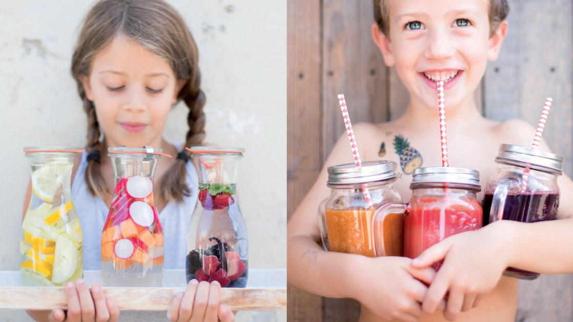 Acque aromatizzate ed estratti: ricette colorate per la tua estate!