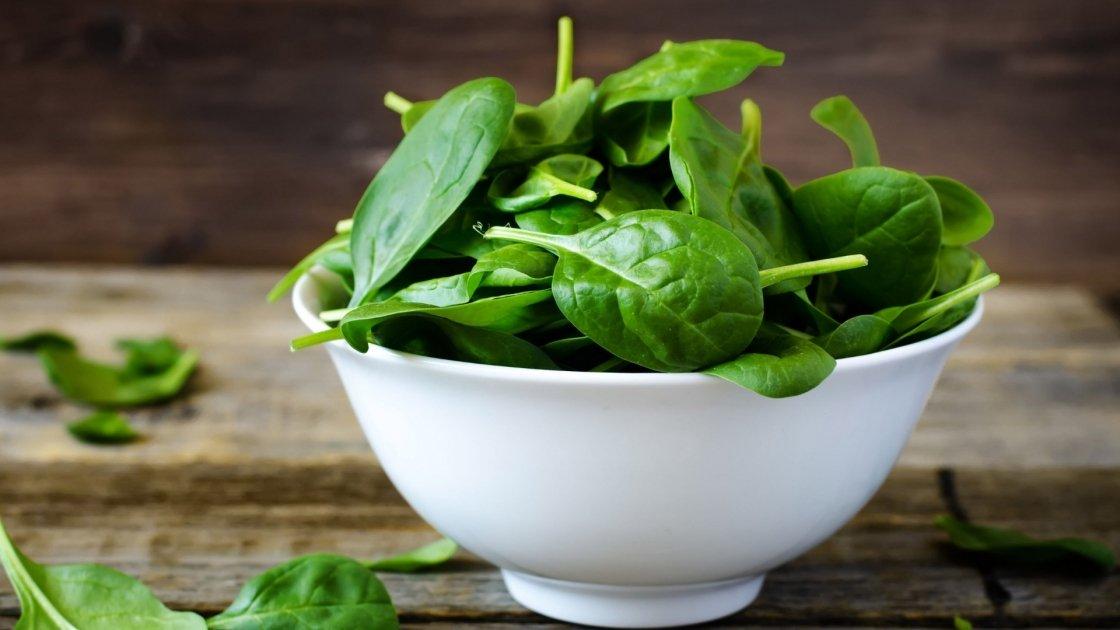 Spinaci, pioggia di nutrienti