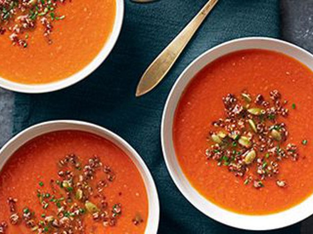 Ricette per rimanere in forma: vellutata di quinoa e verdure