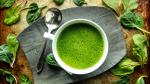 Minestra verde deliziosa