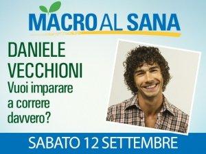 Siamo nati per correre, Daniele Vecchioni lo dimostrerà al Sana 2015 di Bologna