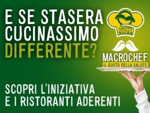 Tutti a tavola con MacroChef, dal 1° Luglio in tutta Italia!