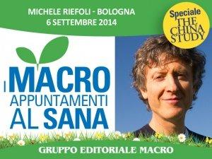 Alimentazione a base vegetale e attività fisica: Michele Riefoli ospite a Sana 2014