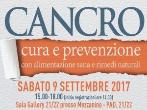 Cura e prevenzione del cancro: al Sana un convegno sulle terapie naturali
