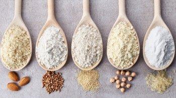 Le farine senza glutine: quali sono e per quali preparazioni sono più adatte