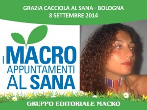 """Grazia Cacciola al Sana: """"Riprendiamoci la nostra vita con una decrescita concreta e quotidiana"""""""