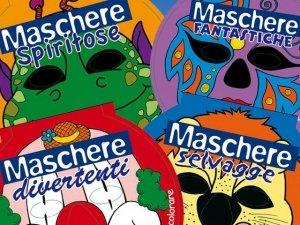 5 maschere da colorare omaggio: non è uno scherzo!