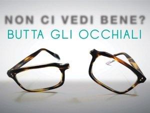 Vuoi curare miopia e presbiopia in modo naturale? Butta gli occhiali!
