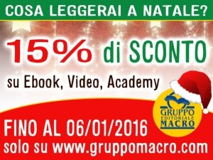 Ebook, Video On Demand, Academy Macro: SCONTO 15%
