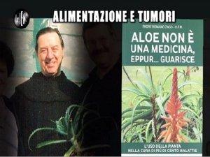 La ricetta a base d'Aloe di Padre Romano Zago alle Iene!