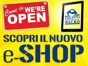 Acquista gli Ebook Macro nel nuovo Shop: per te 5 euro di Buono Sconto!