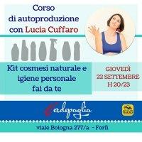 Corso di autoproduzione con Lucia Cuffaro