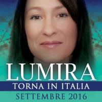 La Sciamana Lumira torna in Italia