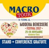 Macro Tour al Modena Benessere 2017