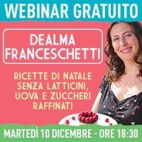 Webinar gratuito con Dealma Franceschetti