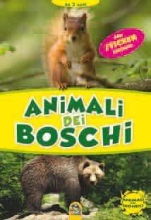 Animali dei Boschi + Sticker - Libro