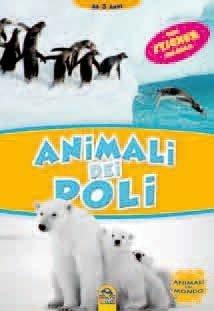Animali dei Poli + Sticker - Libro