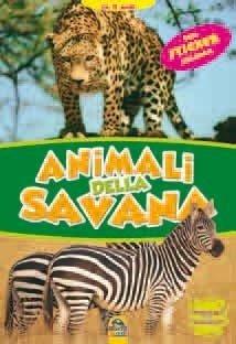 Animali della Savana + Sticker - Libro