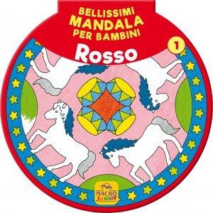 Bellissimi Mandala per Bambini Vol.1 - Rosso - Libro