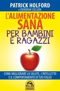 L'Alimentazione Sana per Bambini e Ragazzi - Libro