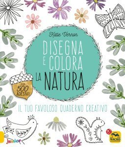 Disegna e Colora la Natura - Libro