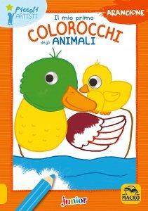 Il Mio Primo Colorocchi degli Animali Arancione - Libro