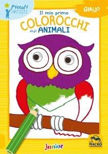 Il Mio Primo Colorocchi degli Animali Giallo - Libro