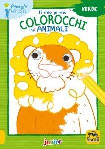 Il Mio Primo Colorocchi degli Animali Verde - Libro