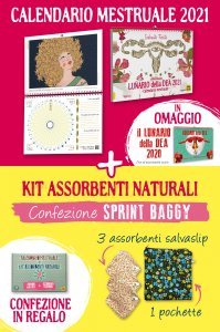 Kit Lunario 2021 + assorbenti Sprint Baggy - Libro