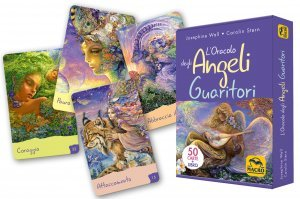 L' Oracolo degli Angeli Guaritori - 50 CARTE+LIBRO USATO - Libro