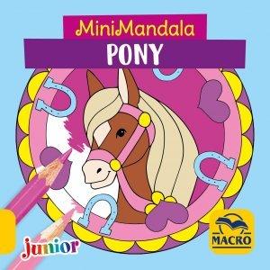 Minimandala Pony - Libro