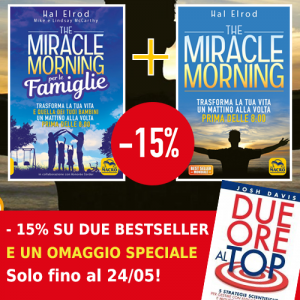 Miracle Morning  + MIracle Morning per le famiglie + OMAGGIO