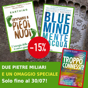 Pacchetto Earthing + Blue Mind + OMAGGIO