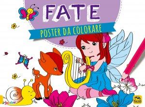 Poster da Colorare - Fate - Libro