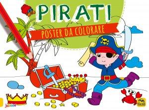 Poster da Colorare - Pirati - Libro