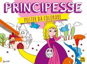 Poster da Colorare - Principesse - Libro