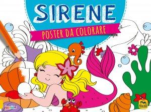 Poster da Colorare - Sirene - Libro