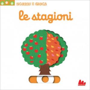 Scorri e Gioca - Le Stagioni - Libro