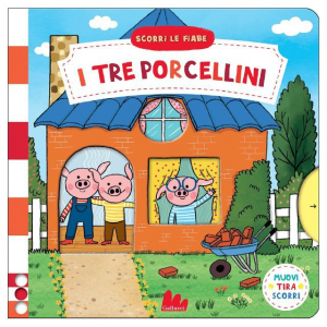 Scorri Le Fiabe - I Tre Porcellini - Libro