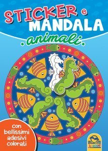 Sticker e Mandala - Animali - Libro