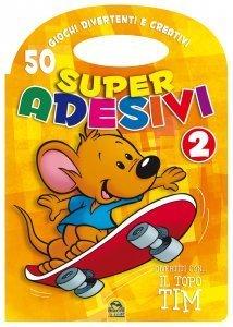 Super Adesivi 2 Arancione - Libro